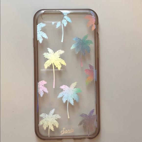 "buy popular e8900 ed0e9 iPhone 6/7/8 ""Iridescent Palm Tree"" Sonix Case"